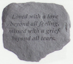 Garden Stone, Large - 604