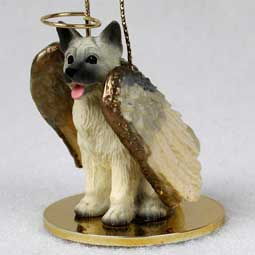 Akita, Fawn Dog Angel Ornament