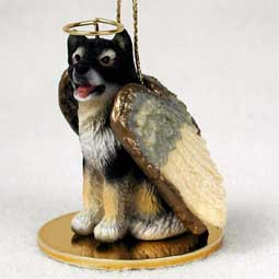 Alaskan Malamute Dog Angel Ornament