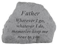 Father Memorial Rock, Small - 165