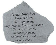 Grandmother Memorial Rock, Small - 152