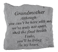 Grandmother Memorial Rock, Small - 159