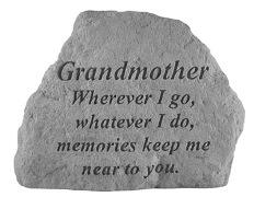Grandmother Memorial Rock, Small - 166