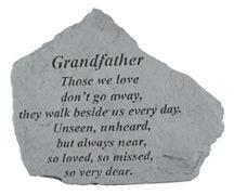 Grandfather Memorial Rock, Small - 153