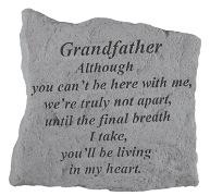 Grandfather Memorial Rock, Small - 160