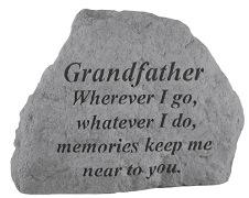 Grandfather Memorial Rock, Small - 167