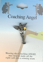 Coaching Angel Pin