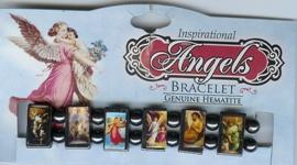 Angel Bracelet, Genuine Hematite